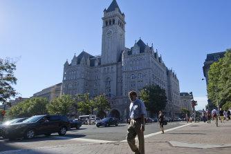 The Trump International Hotel in downtown Washington DC.