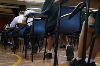 """""""The return to school has no room for anti-vax sentiment or vaccine hesitancy,"""" said Education Minister Sarah Mitchell."""