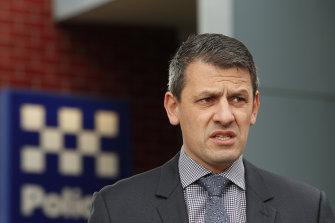 Victorian Police Association secretary Wayne Gatt.