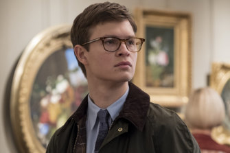 Ansel Elgort plays the adult Theo in a scene from The Goldfinch.