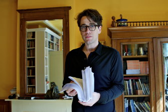 Benjamin Moser says writing a biography is an intimate experience.