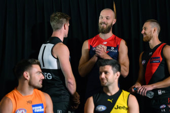 AFL players had a phone hook-up on Tuesday to discuss the league's hub plans.