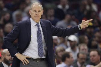 John Beilein resigned as Cavaliers coach this week.