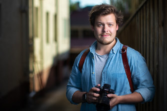 Wedding photographer Kyle Pasalskyj is one of many Victorians whose JobKeeper payments were cut this week.