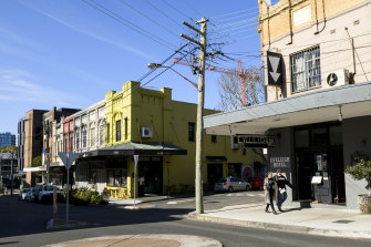 The Eveleigh Hotel in Redfern.