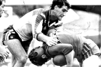 Gone: Long-serving Bulldogs  player and football administrator  Andrew Farrar.