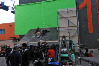 Action thriller 'The Killer Elite' was shot at Docklands Film Studios.