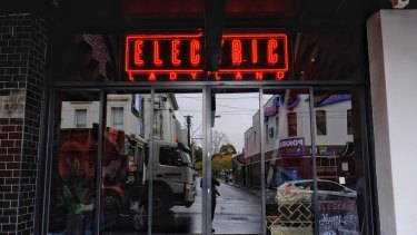 Electric Ladyland bar on Chapel Street