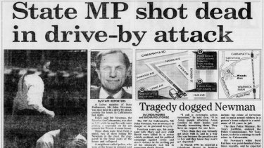 From the Archives: NSW MP John Newman shot dead in drive by