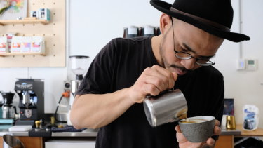 WA barista Ziggy Varamulia was crowned champion at the Western Region Barista Championship in Adelaide at the weekend.