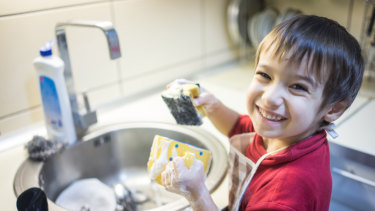 A sociologist says that giving your child pocket money for chores can leave them feeling entitled.