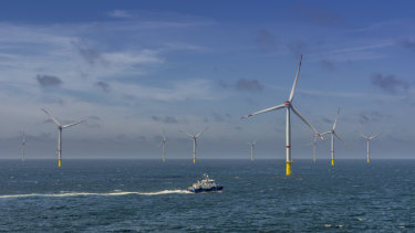 The Veja Mate offshore wind farm in Germany.