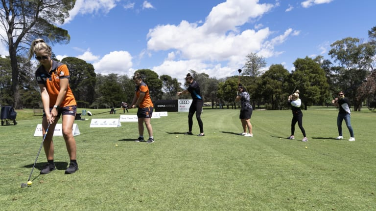 The Canberra Capitals, Brumbies, Canberra United and GWS Giants helped launch the Canberra Classic.
