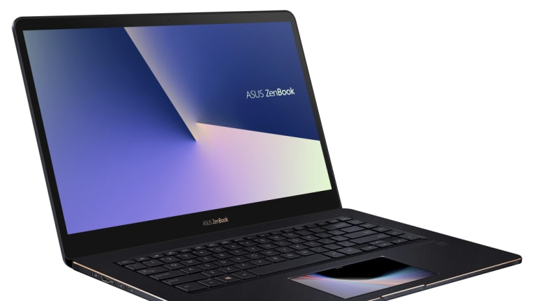 The new Asus Zenbook features a HD touchscreen in place of a trackpad.