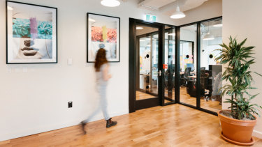 WeWork in Brisbane opened this week, one of many shared workspaces around the city.
