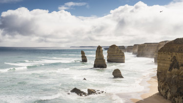 The so-called Twelve Apostles.