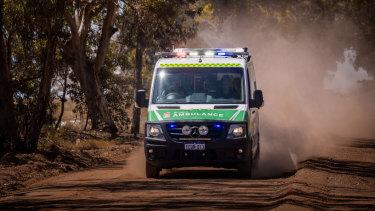 Baby girl dies after car crash near Collie