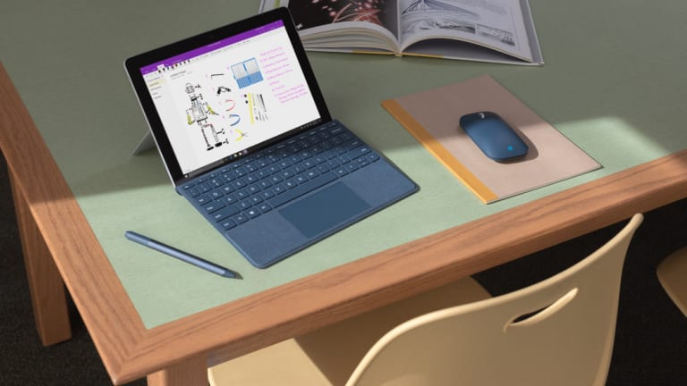The cost of the Surface Go does start to stack up when you add a keyboard cover, stylus and mouse.