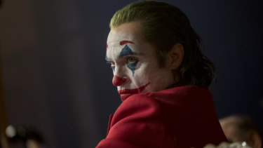 Joaquin Phoenix plays the eponymous character in Todd Phillips' Joker.