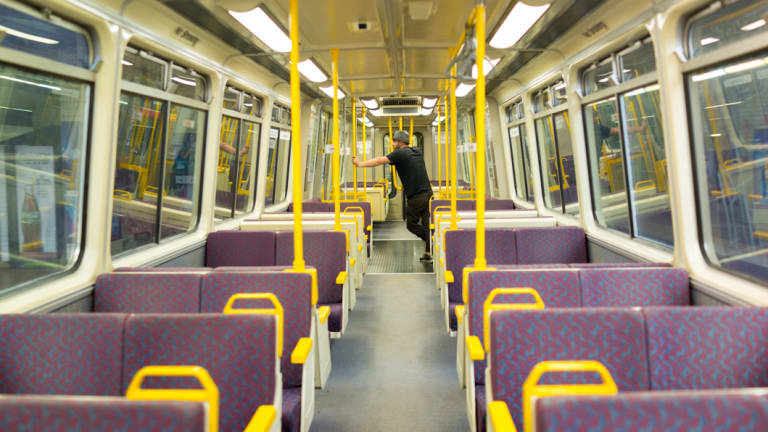 An Infrastructure Australia report has examined the availability of public transport within walking distance of home.