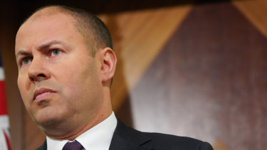 The result suggests the economy will grow much slower than anticipated in Treasurer Josh Frydenberg's April budget.