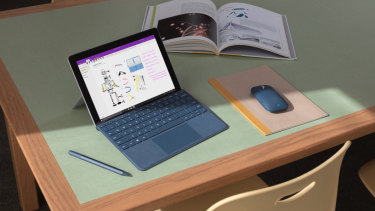 Like the Surface Pro, the Go is compatible with a range of colour-matched accessories.