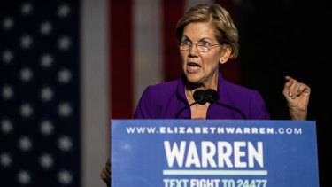 Elizabeth Warren has been attracting a lot of attention from Wall Street.