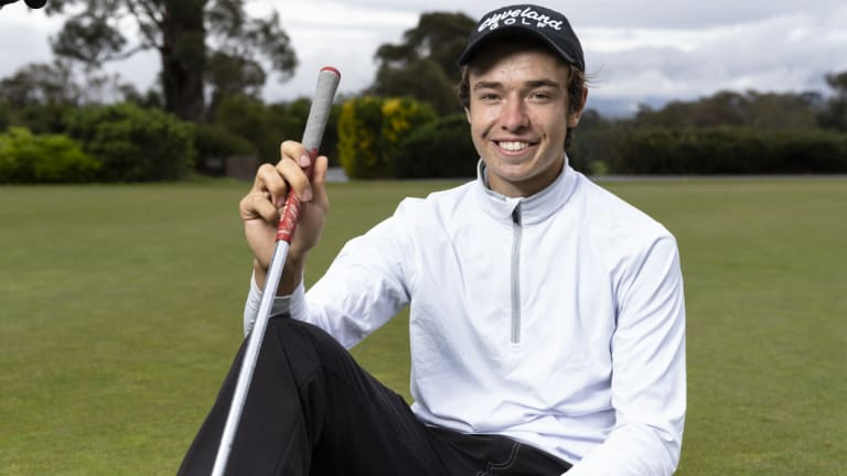 Canberra young gun Adam Thorp has his sights set on winning the Federal Amateur Open before he moves to the USA for university.