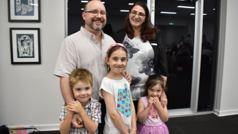 The Maces send all their kids to public schools in the week and Hebrew school on Saturday. Their main aim is to foster an appreciation of Judaism in their kids.