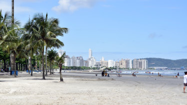 The Brazilian resort island-city of Santos is built on a layer of sand over a layer of clay.