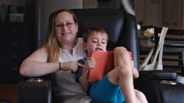 Krystal Kaldis gets involved with her son Angelo's screen time to make it educational.