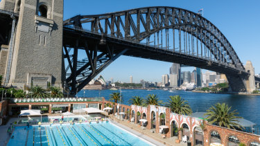 The  North Sydney Olympic Pool, which requires an upgrade.