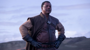 Greef (Carl Weathers) in The Mandalorian.