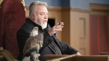 Kyle Sandilands plays judge in Trial By Kyle.
