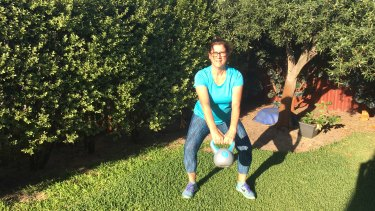 Leanne Novatscou, 51, from Perth, went from settlement clerk to fitness trainer.