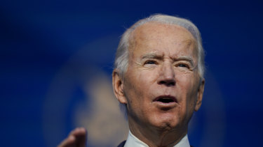 President-elect Joe Biden has said he will seek a new and much larger round of aid once he is sworn in.