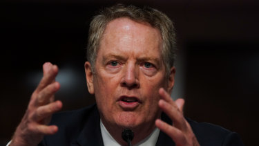 US trade envoy Robert Lighthizer emerging as an obstacle to lawmakers and other top White House officials who want to punish China.