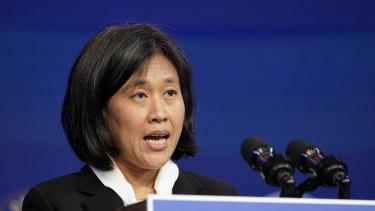 Katherine Tai is Joe Biden's nominee as US Trade Representative.
