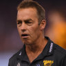 'Strange' times: Hawthorn coach ponders AFL scoring downturn