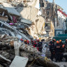 Rescue teams race the clock searching for Turkish earthquake survivors