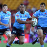 Rocks and diamonds: Kurtley Beale can be erratic but it's been far more of the latter recently for the Waratahs.