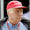 Niki Lauda at the 2018 Australian Grand Prix.