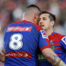 Pearce, Ponga breathe life into Knights in North Queensland thrashing