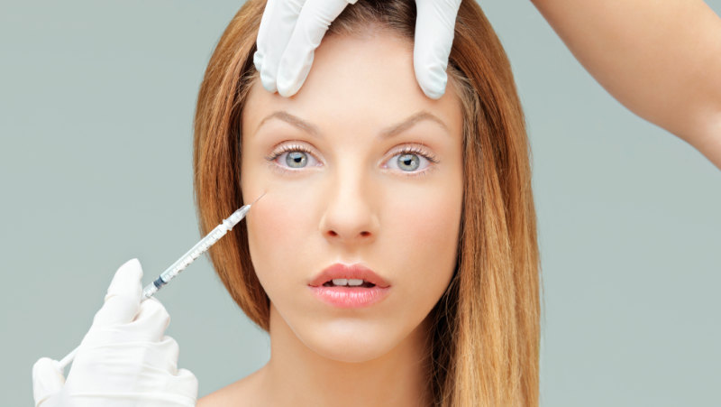You don't have to have a filler injection in the eye to go