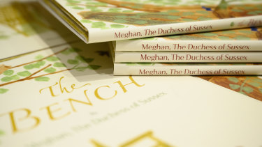 """Meghan Markle's book """"The Bench"""" hasn't cracked the Amazon top 100 in Britain."""