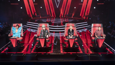The Voice has been running on Nine for the last eight years, but will appear on Seven from next year.
