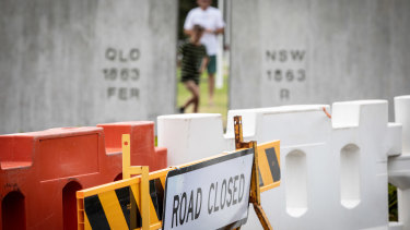 Queensland's border remains closed to NSW and Victoria.