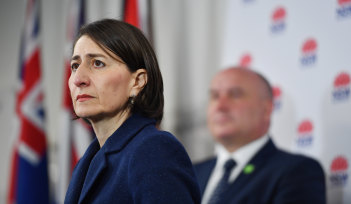 NSW Premier Gladys Berejiklian has pleaded with Sydneysiders to avoid public transport if they can.