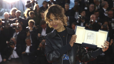 Director Mati Diop won for Atlantique.