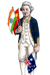 No smooth sailing: the commemoration of the 250th anniversary of Captain Cook's arrival was cancelled.